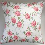 Cushion Cover in Emma Bridgewater Rose Stripe 16""